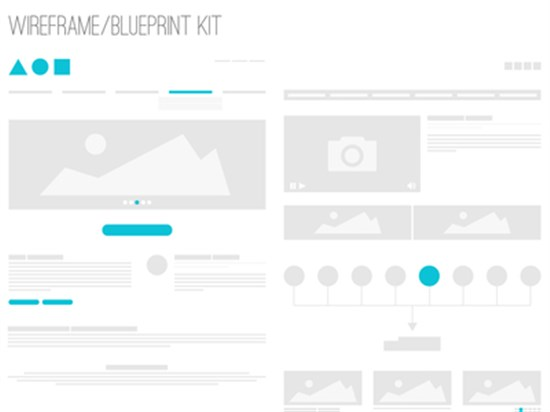 Best Of Web Design A Collection Of Free Wireframe