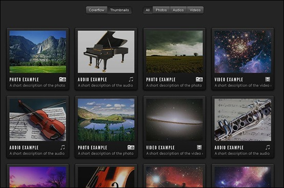html5 photo gallery template | Cartoonwjd.com